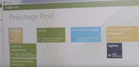 Firma Pneuhage wybrała system ERP enova365
